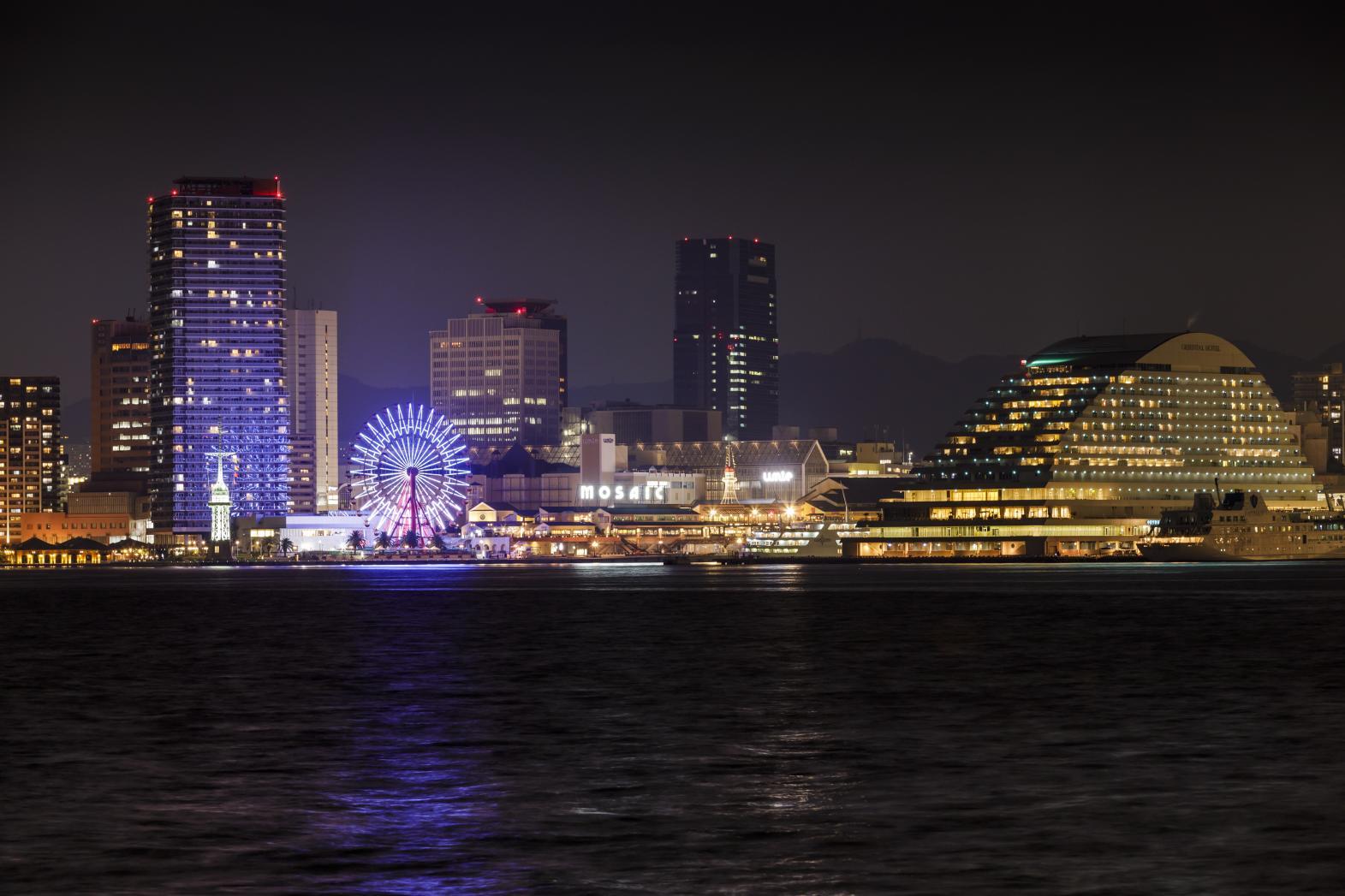 神戸の夜景-1