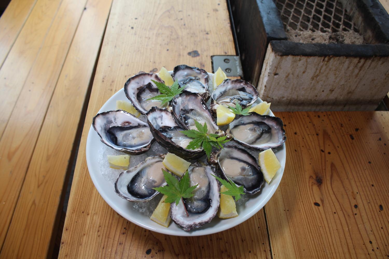 「海幸彦牡蠣」を食べてみた-0