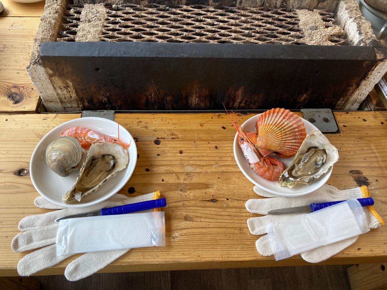 「海幸彦牡蠣」を食べてみた-1