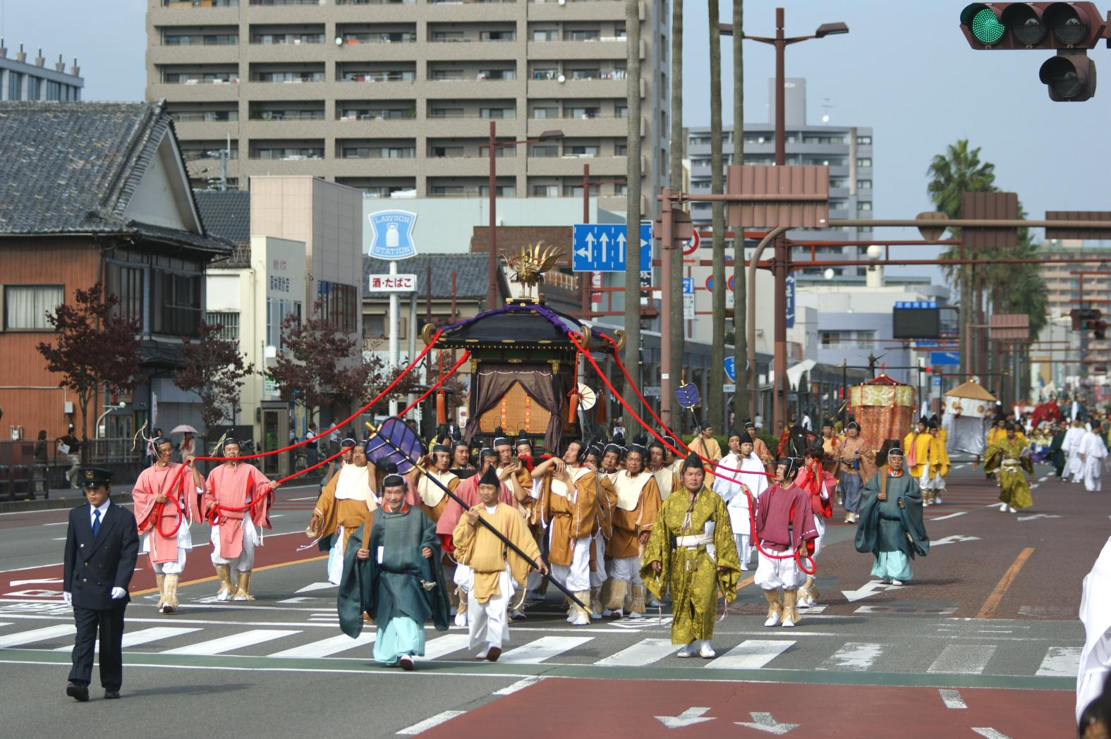 The annual Jimmu-sama festival-0