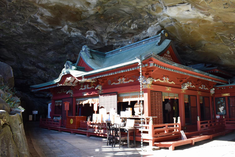 矗立于海岸的神社、鹈戸神宫-1