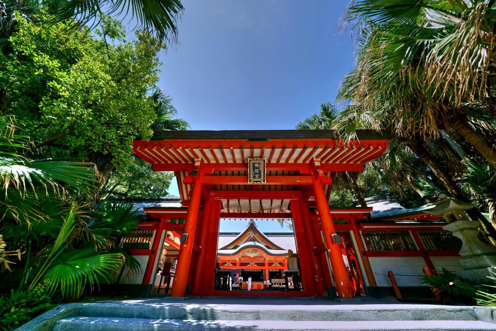 神秘的青岛神社,其实是祈求姻缘的好地方?-0