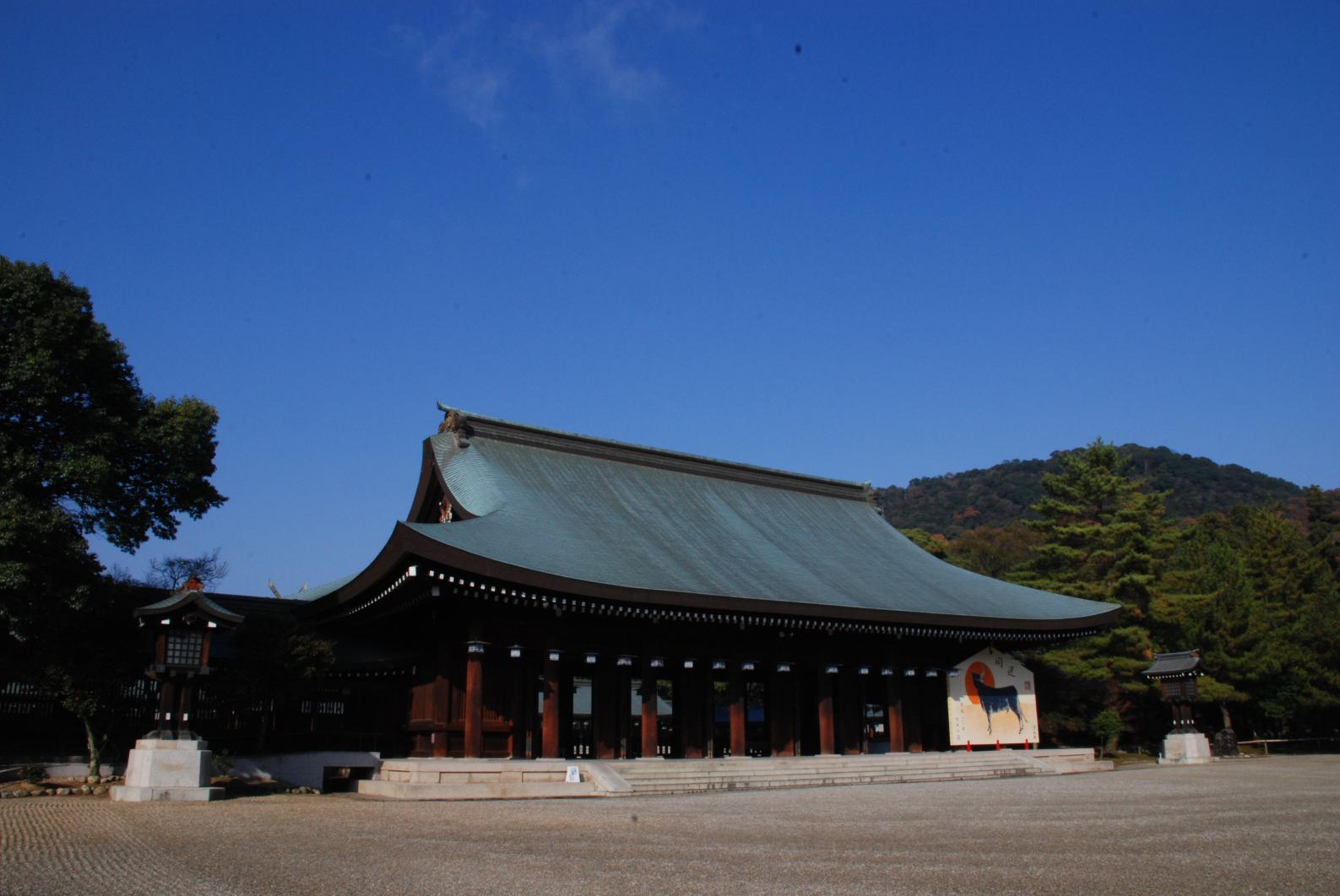 初代天皇が誕生した「橿原神宮」(奈良県橿原市)-0