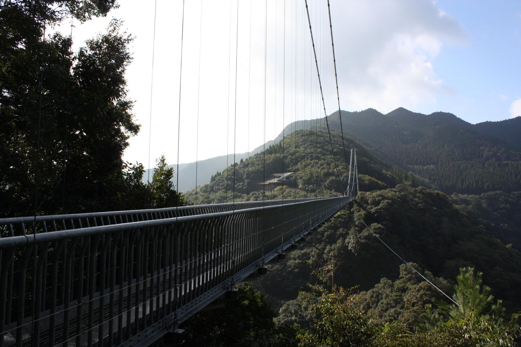 車があるなら行ってみたい!宮崎市から45分の絶叫吊り橋!?-3