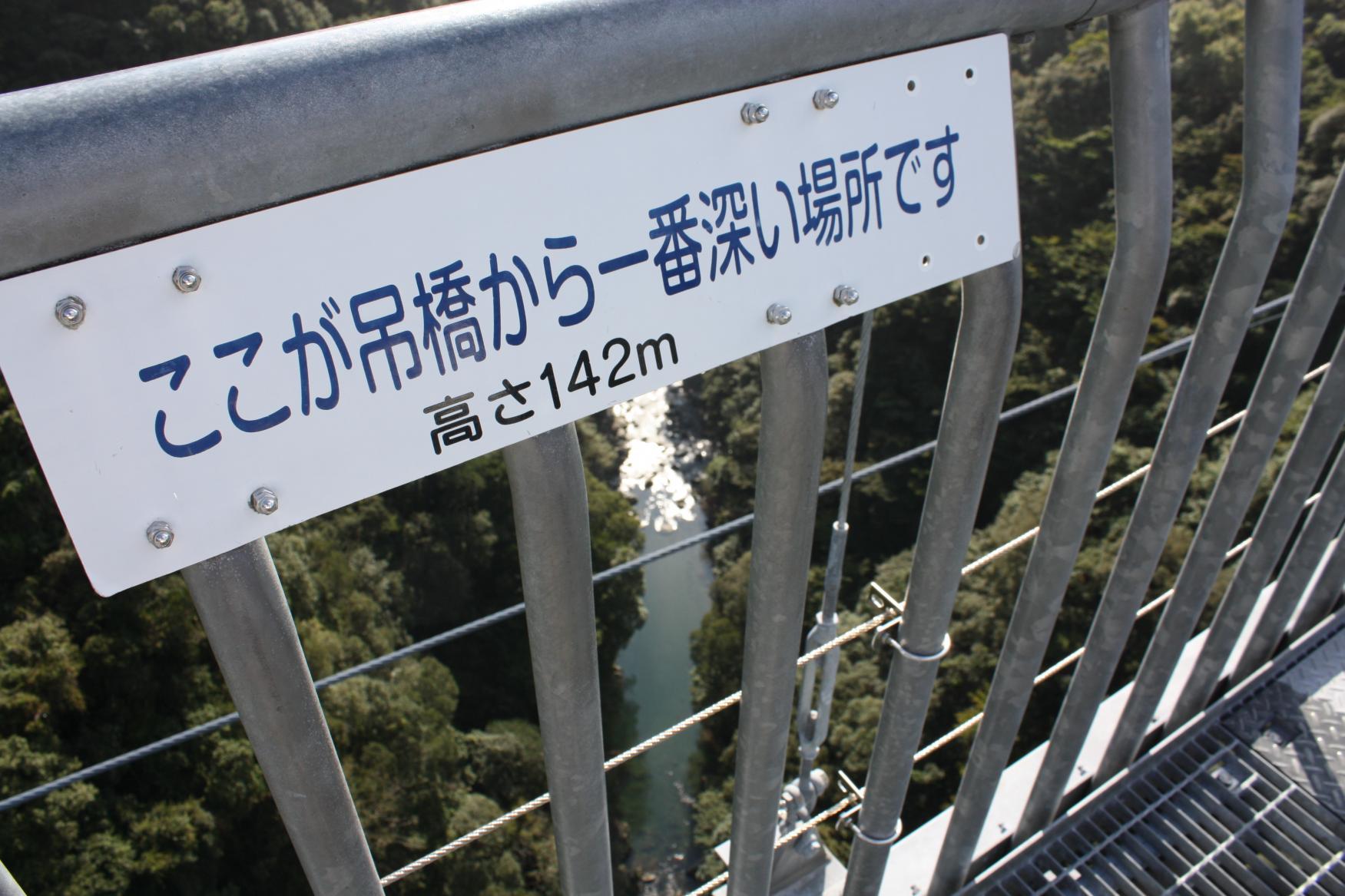 車があるなら行ってみたい!宮崎市から45分の絶叫吊り橋!?-2