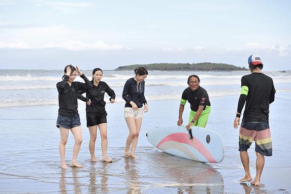 サーフィン体験-3