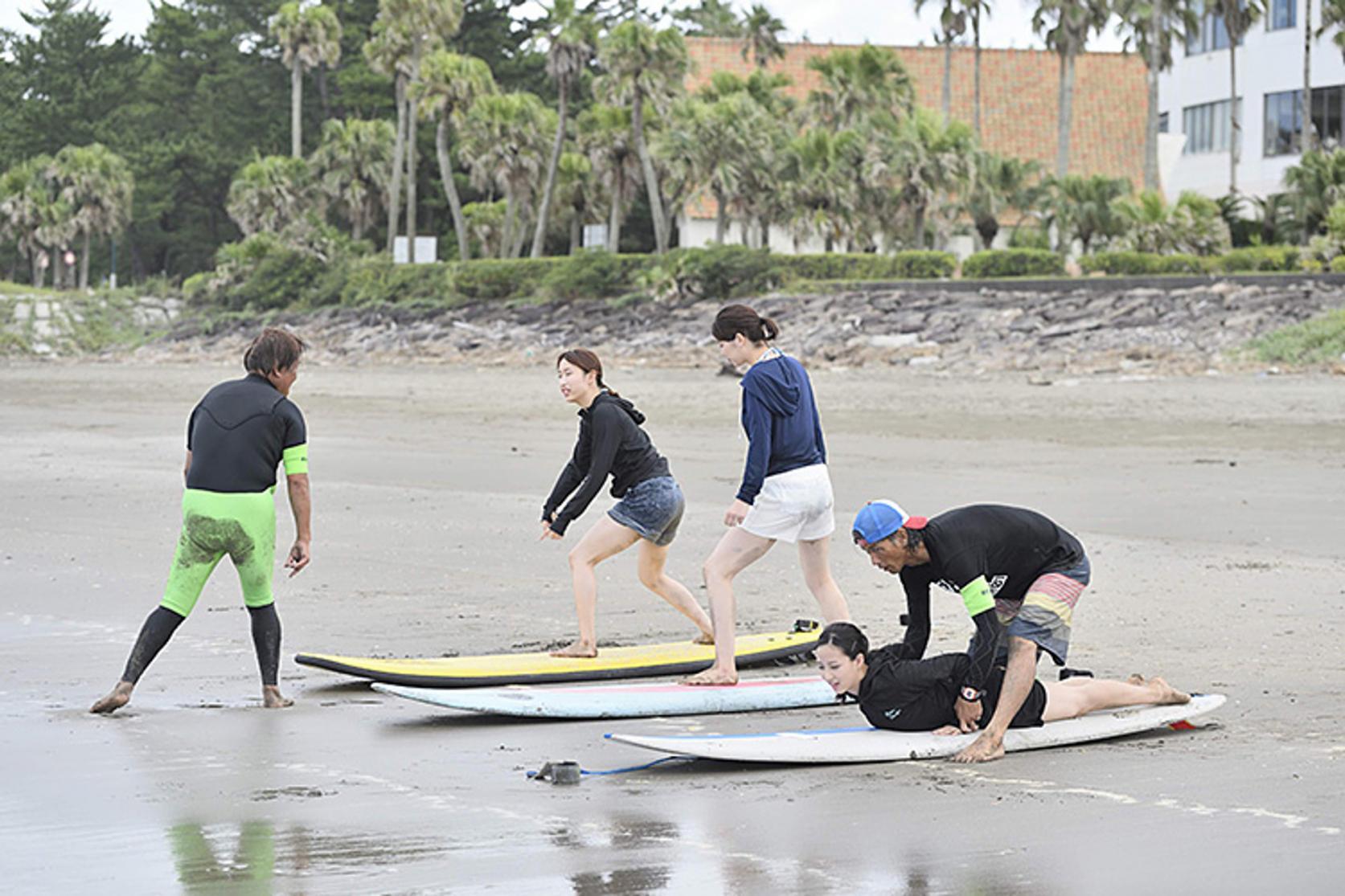 サーフィン体験-1