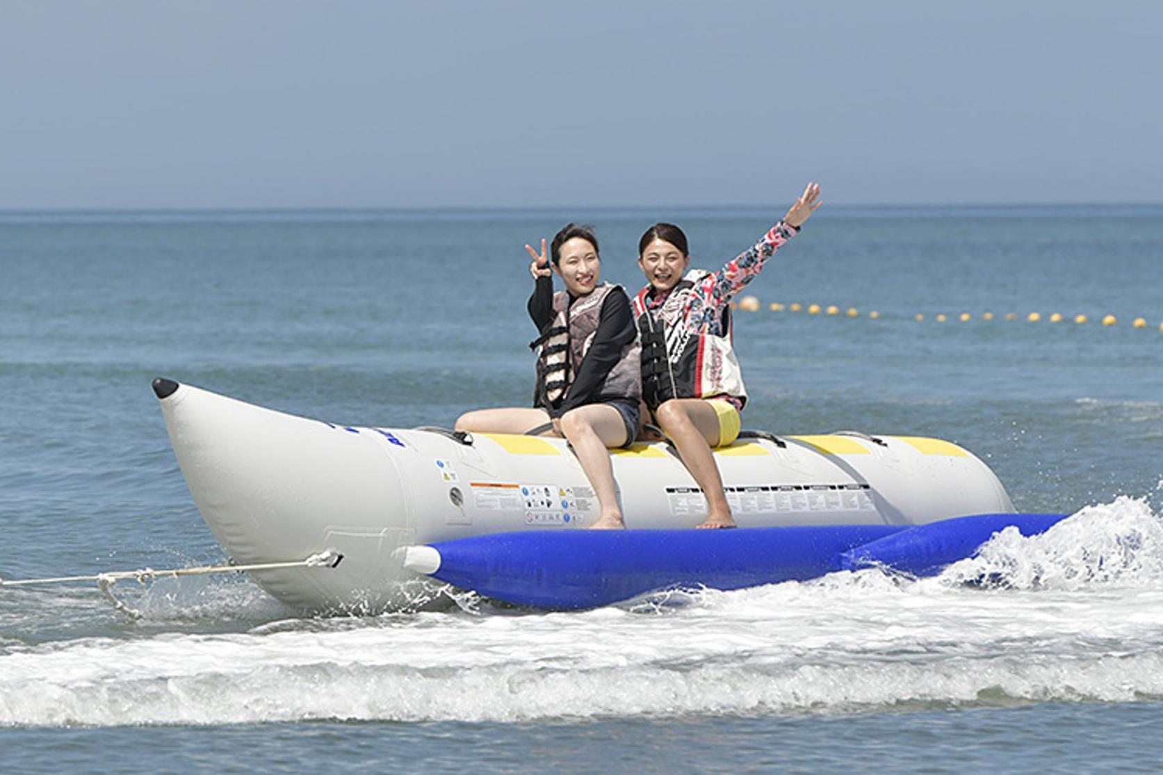 バナナボート&ジェットスキー体験-1