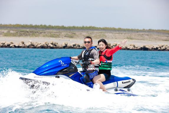 バナナボート&ジェットスキー体験-5