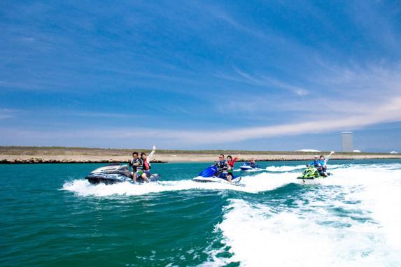 バナナボート&ジェットスキー体験-6