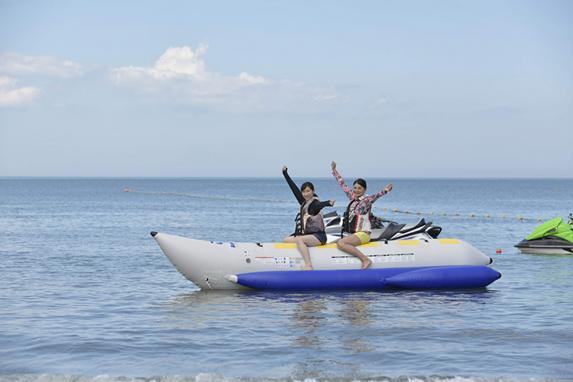 バナナボート&ジェットスキー体験-4