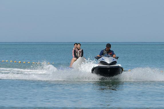 バナナボート&ジェットスキー体験-3