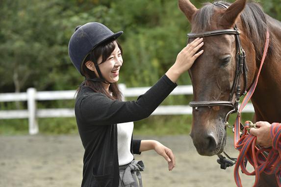ふれあい乗馬体験-2