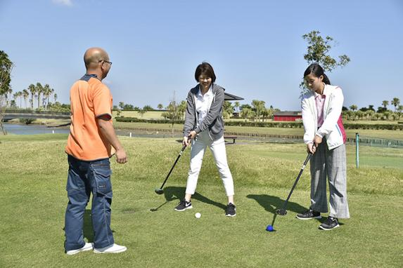 青島パークゴルフ体験-1
