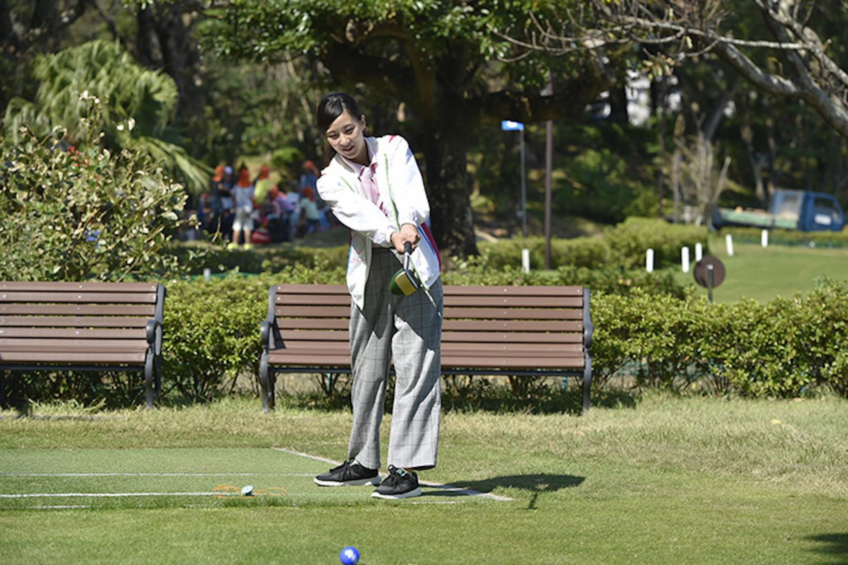青島パークゴルフ体験-2