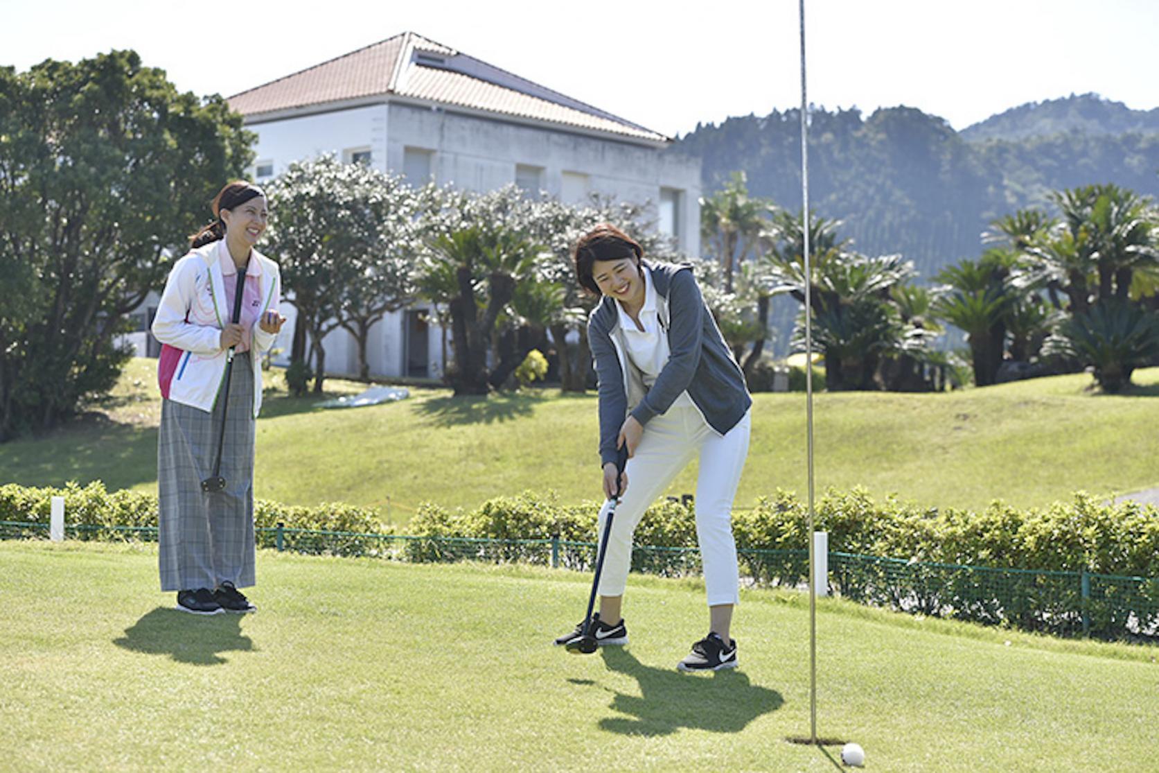 青島パークゴルフ体験-3