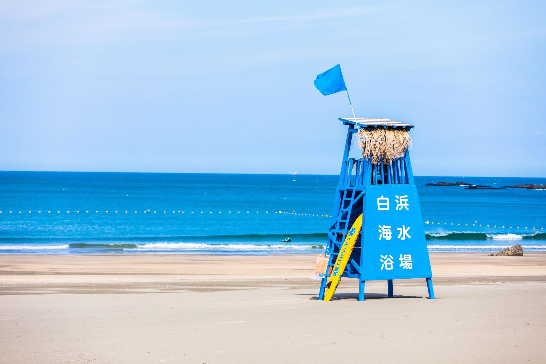 白浜海水浴場-1